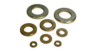 COPPER PLAIN WASHERS METRIC DIN 7349